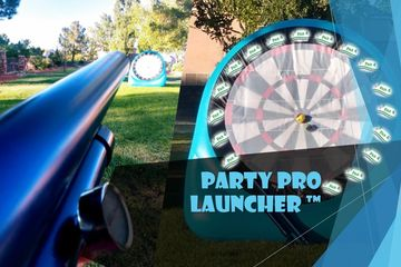 Party fun, Party, Fundraising, Schoolfundraiser, birthday party, corporate event , outdoor contest , tennisball , tennisballlauncher