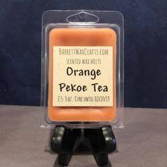 Orange Pekoe Tea scented wax melt.