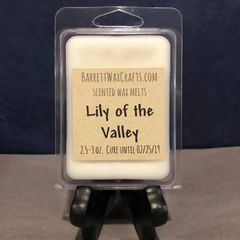 Lily of the Valley scented wax melt.