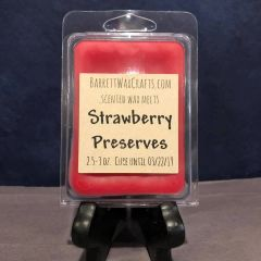 Strawberry Preserves scented wax melt.
