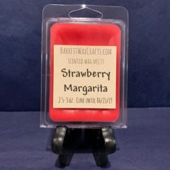 Strawberry Margarita scented wax melt.