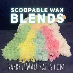Scoopable Wax - Cool Spearmint, Marshmallow Fireside, Sweet Lavender