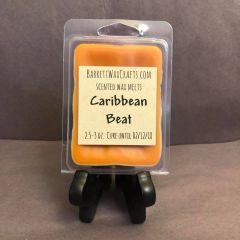 Caribbean Beat scented wax melt.