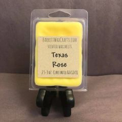 Texas Rose scented wax melt.