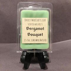 Bergamot Bouquet scented wax melt.