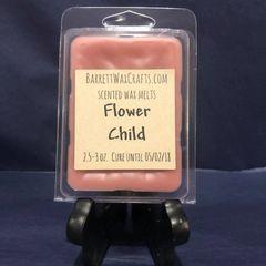 Flower Child scented wax melt.