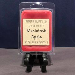 Macintosh Apple scented wax melt.
