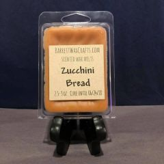 Zucchini Bread scented wax melt.