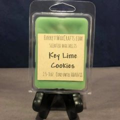 Key Lime Cookies scented wax melt.