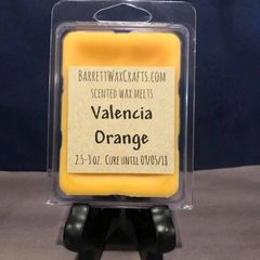 Valencia Orange scented wax melt.