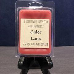Cider Lane scented wax melt.