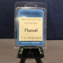 Flannel scented wax melt.