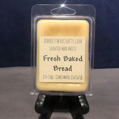 Fresh Baked Bread scented wax melt.