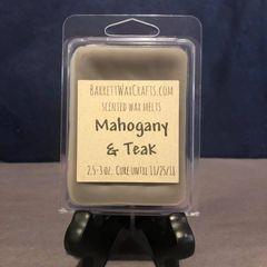 Mahogany & Teak scented wax melt.