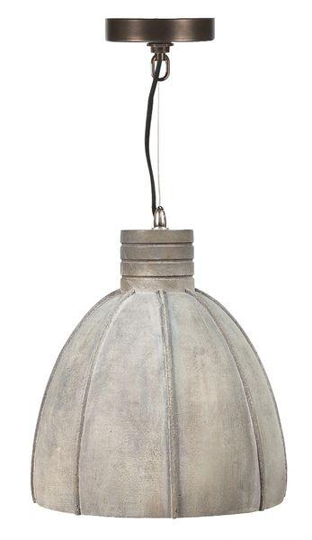 Concrete Pendant Light Industrial