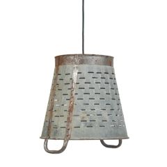 Basket Pendant Light Vintage Rustic