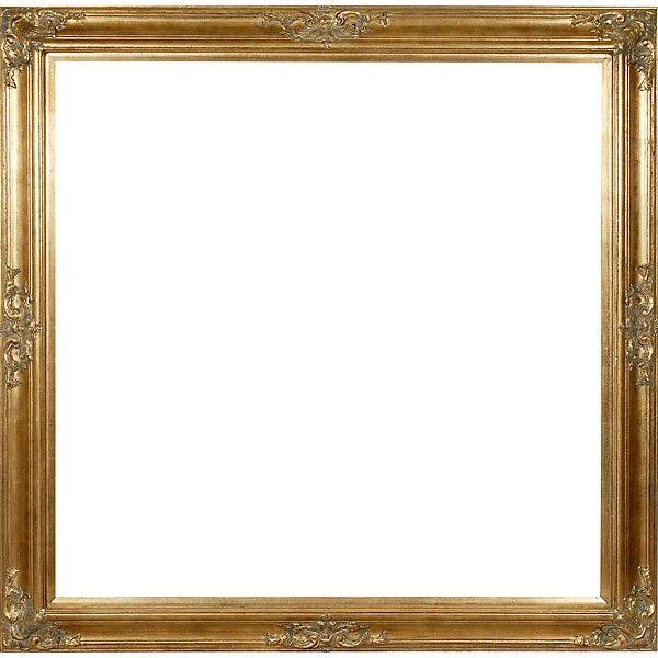 Gold Square Mirror Handmade