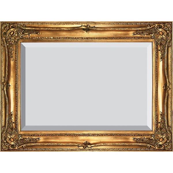Gold Mirror Beveled Glass Handmade