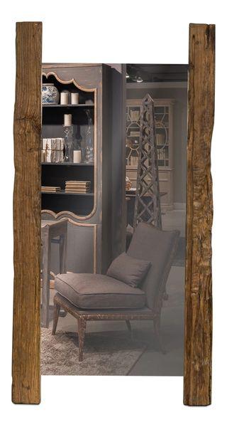 Beam Floor Mirror Reclaimed Wood over 6' Tall