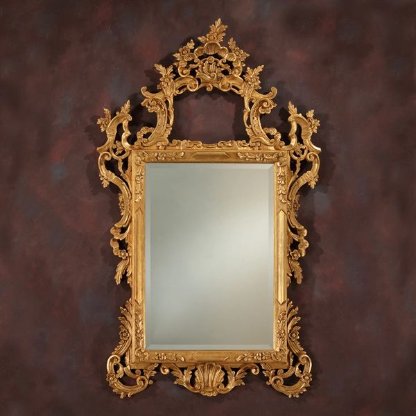 Neoclassical Mirror Large Hand-carved Made in Italy