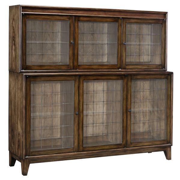 Paldao Bookshelf Solid Brass Glass Shelves