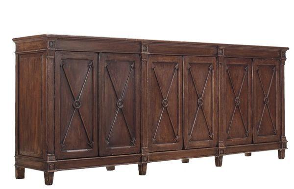Sideboard Cabinet Bow & Arrow Dark Pine