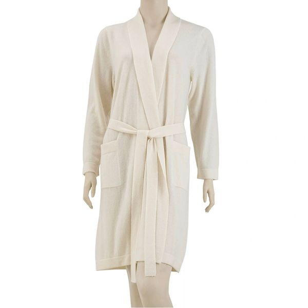Cashmere Robe Belted Luxury Bathrobe