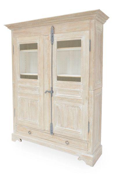 Armoire Reclaimed Pine Farmhouse Whitewash