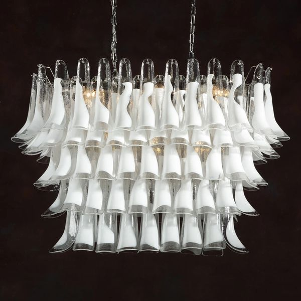 Calusa Chandelier Hand Blown Venetian Made in Murano Italy New Free ship
