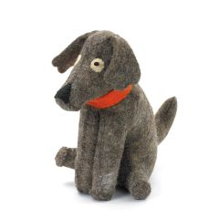 Doggy Door Stop Felt Set of Two