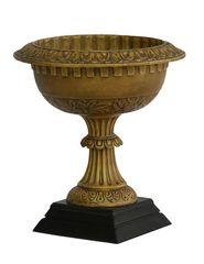 Garden Urn Cast Iron Bronze Finish Planter