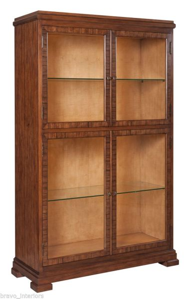 Display Cabinet Dark Walnut Paldao Classic
