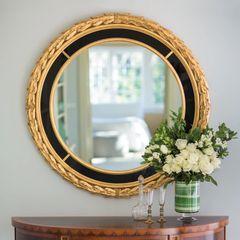 Italian Mirror Neoclassical Gold Leaf