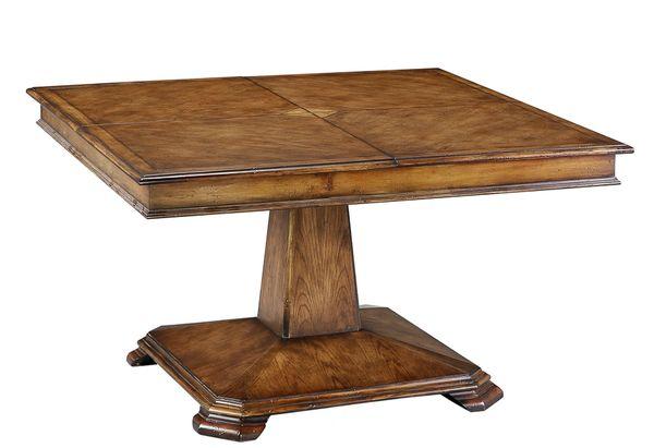 Square Dining Table Jupe Adjustable Handmade