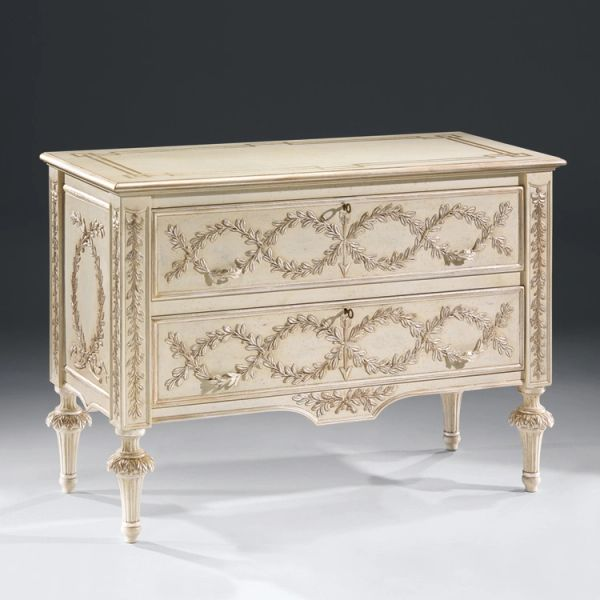 Rococo Chest with Hand Carved Detail