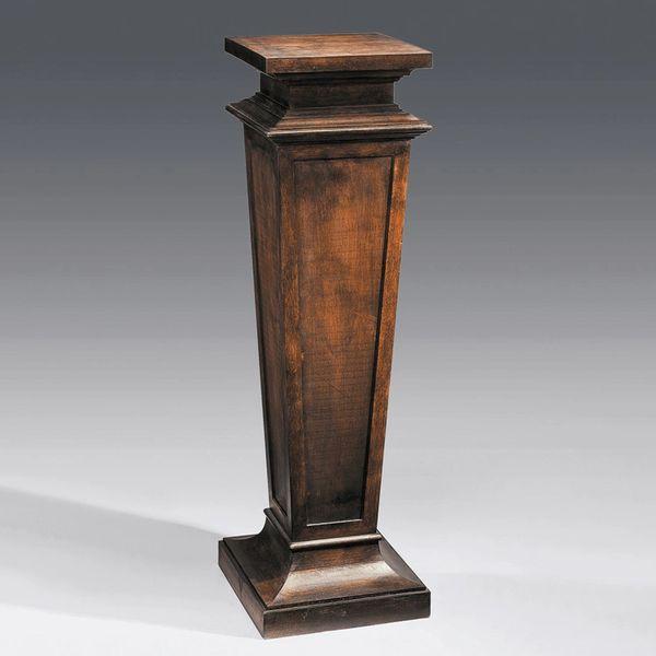 Empire Pedestal in Antique Walnut