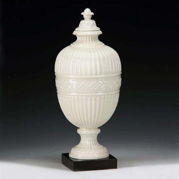 Ceramic Apothecary Jar in Cream