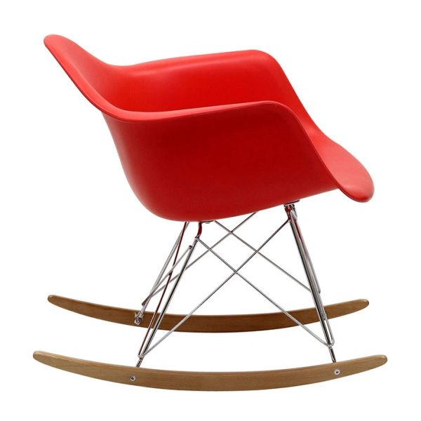 Mid Century Modern Rocking Chair Ships Free