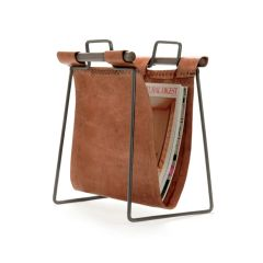 Leather Magazine Holder Sling Style Iron Free Ship