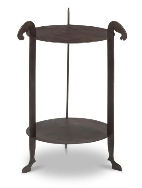 Iron Forged Horse Leg Side Table