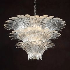 Showgirl Chandelier Venetian Glass Clear