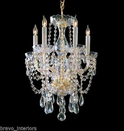 Swarovski Chandelier w/ Spectra Crystal Handmade