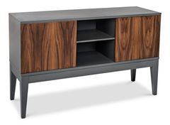 Modern TV Stand in Beech Wood