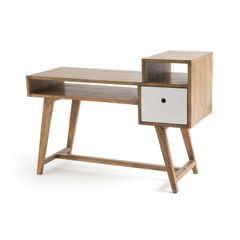 Modern Desk Mid Century Office in Wood