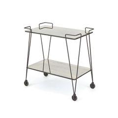 Bar Cart Minimalist Modern Mirror