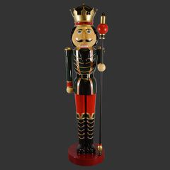 Nutcracker Statue 12 Feet Tall Christmas Decor