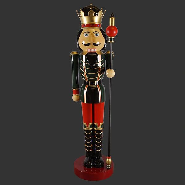 Nutcracker Statue 12 Feet Tall Christmas Decor