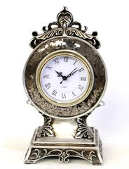 Decorative Clock Metal Vintage Mirror