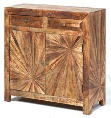 Sunburst Cabinet Medium Modern Server
