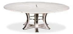 White Tower Jupe Dining Table Large New Traditional